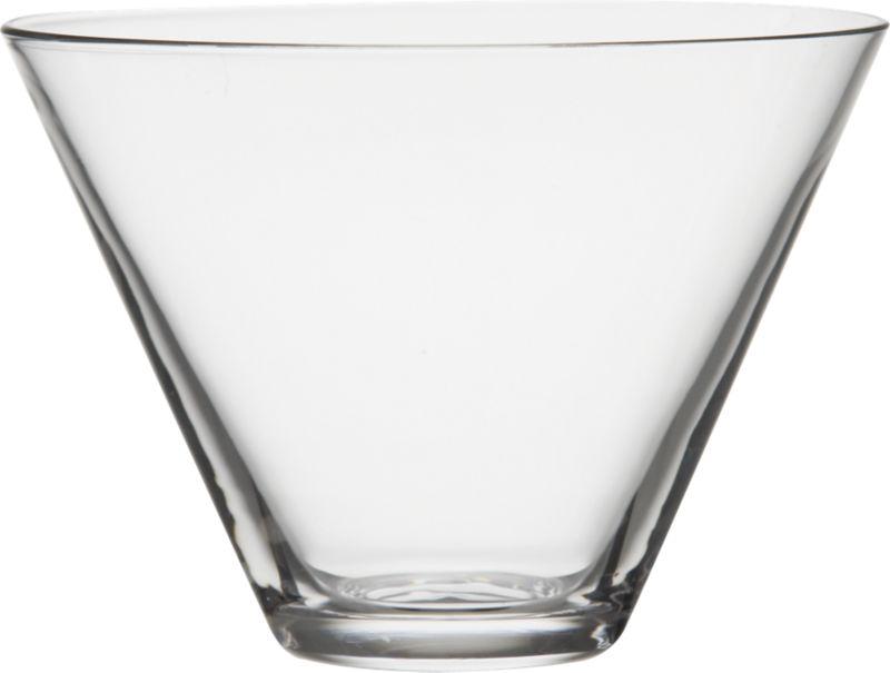 "<span class=""copyHeader"">the un-goblet. </span>  Let nothing come between you and the spirits. Stemless handblown new vintage serves 'tinis. Pure shape, simple taper.<br /><br /><NEWTAG/><ul><li>Handblown glass</li><li>Cool-cut rim</li><li>Hand wash recommended</li></ul>"
