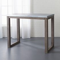 "stern 37"" high counter table"