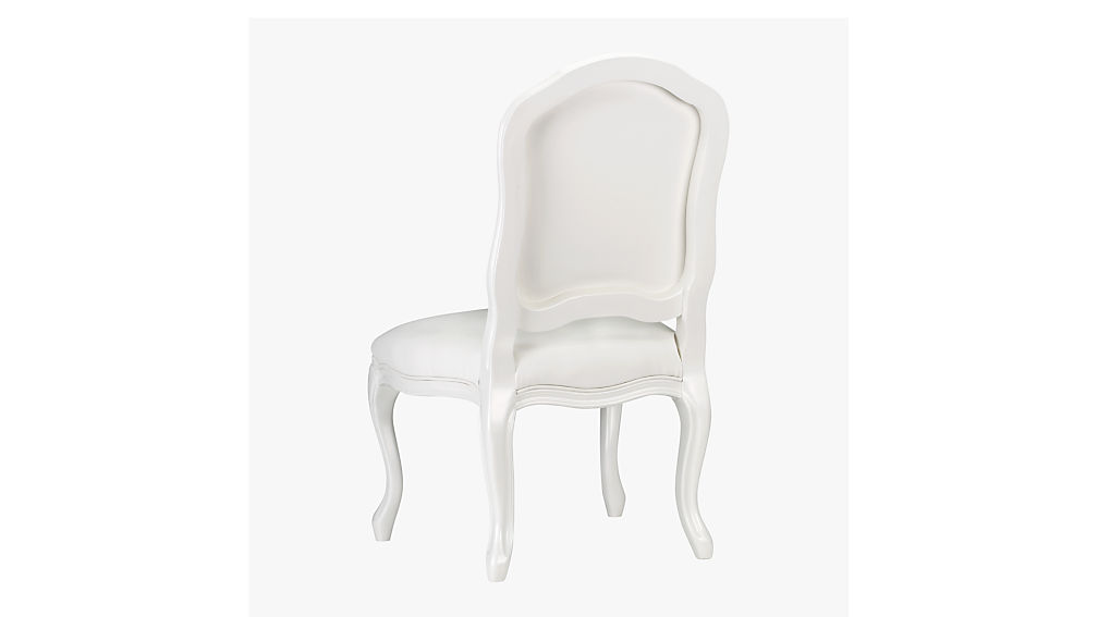 stick around white side chair