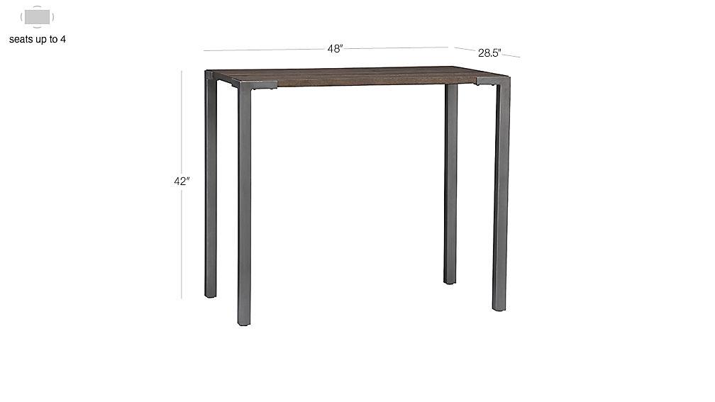 Stilt 42 Quot High Top Breakfast Table Cb2