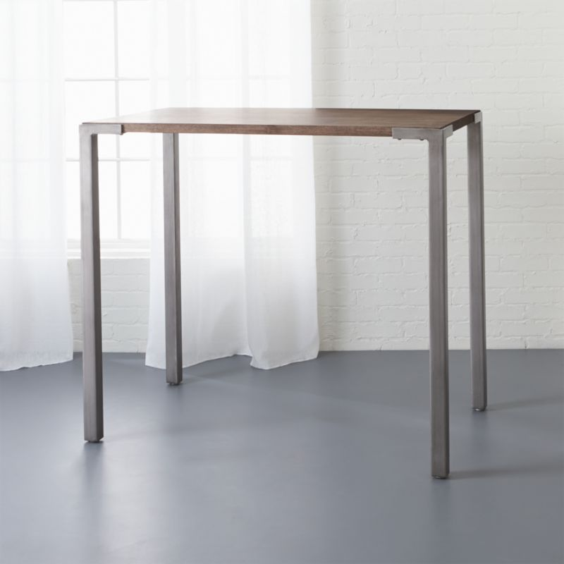 Stilt 42 high top breakfast table reviews cb2 for High dining table