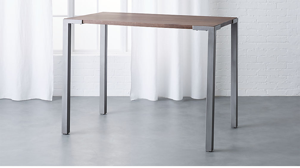 "stilt 36"" high rectangular counter table"