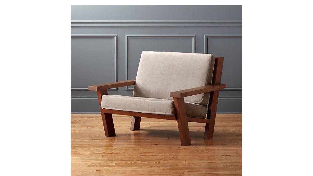 Studio Wooden Lounge Chair