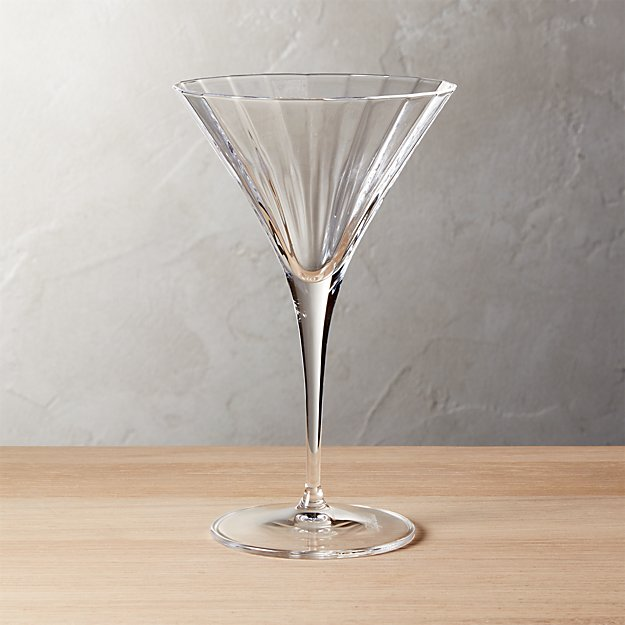 suave martini glass