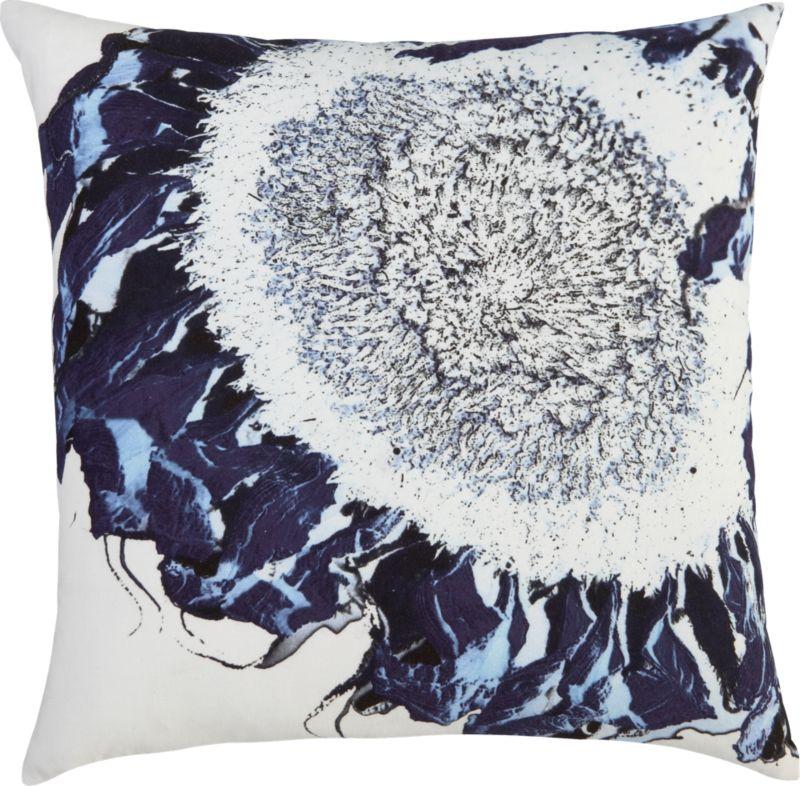 """sunflower 20"""" pillow"""