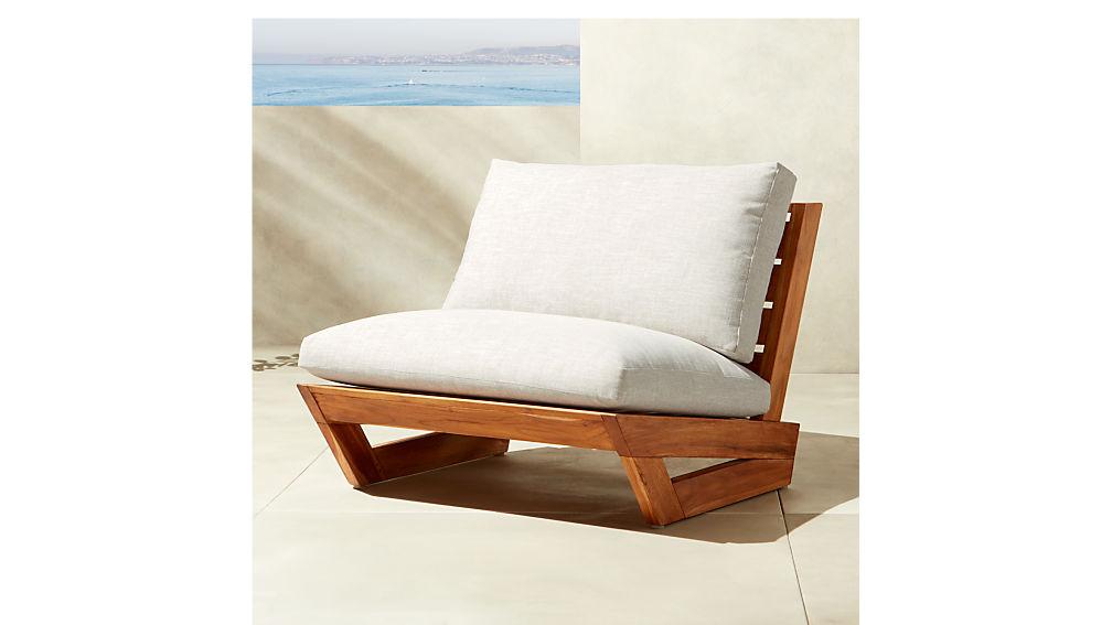 Sunset Teak Lounge Chair Reviews Cb2