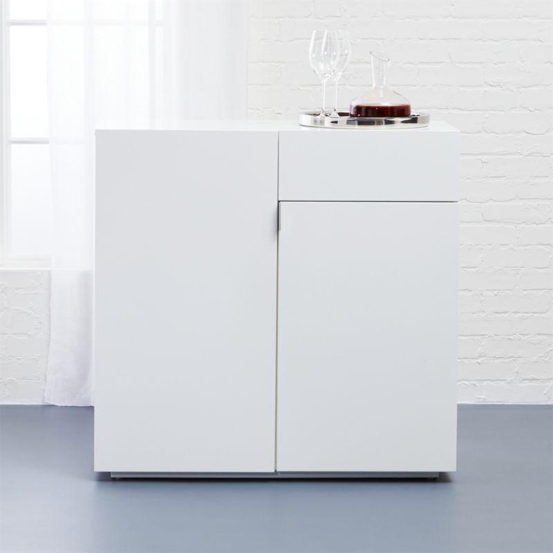 White Lacquer Furniture Cb2. 70 White Lacquer Bar Cabinet ...