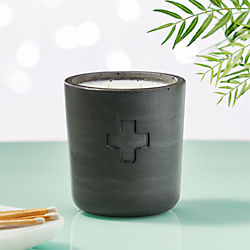 Sydney Hale Black Cement Rescue Eucalyptus And Sage Candle