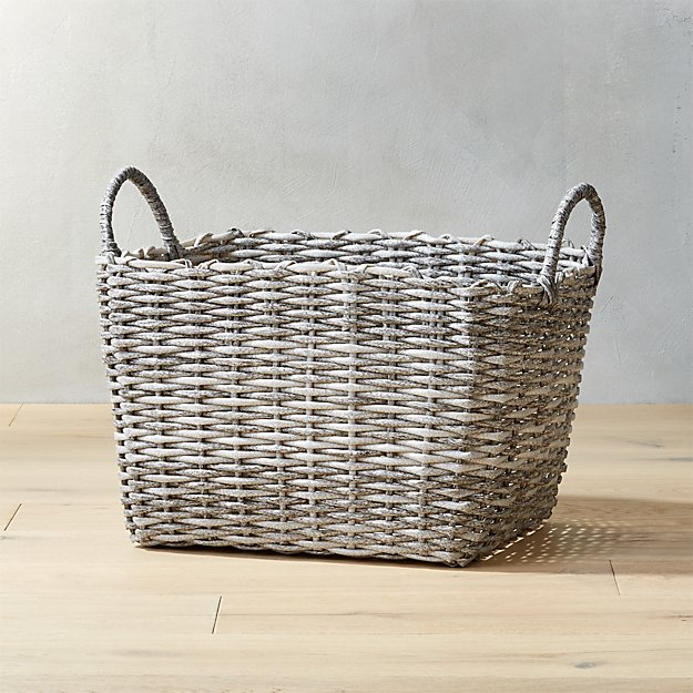 Sydney Large Grey Basket.