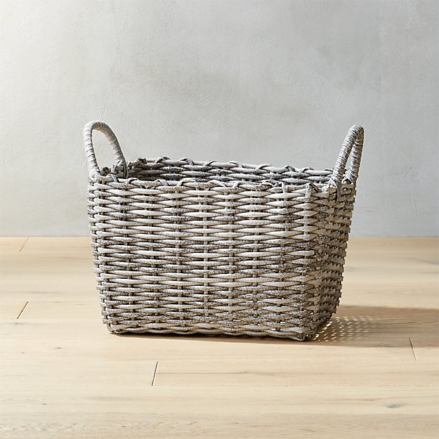 Sydney Small Grey Basket.