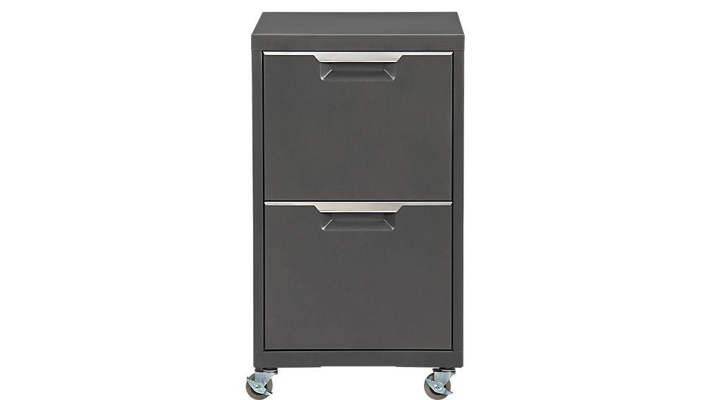 TPS carbon 2-drawer filing cabinet