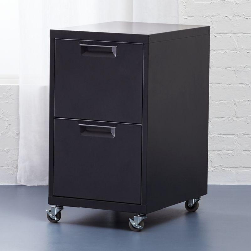 Tps Carbon 2 Drawer Filing Cabinet