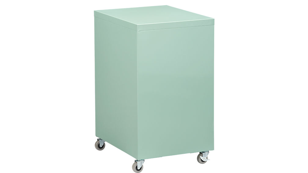TPS mint 3-drawer filing cabinet