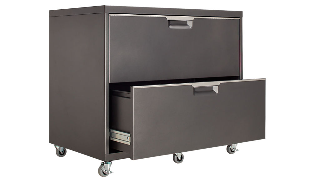 TPS Carbon Wide Filing Cabinet