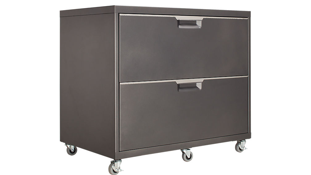wide file cabinet tps carbon wide filing cabinet cb2 29279