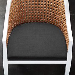 tayabas black chair cushion
