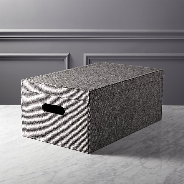 tailor storage box with lid