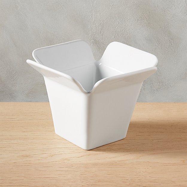 Ceramic Chinese Take Out Box Cb2