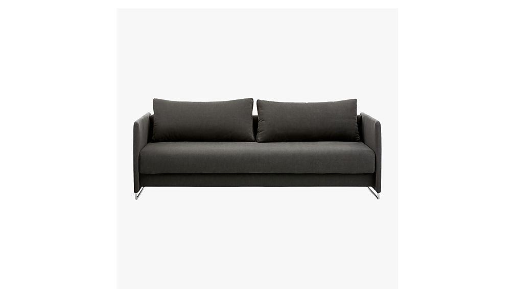 ... Tandom Dark Grey Sleeper Sofa ...