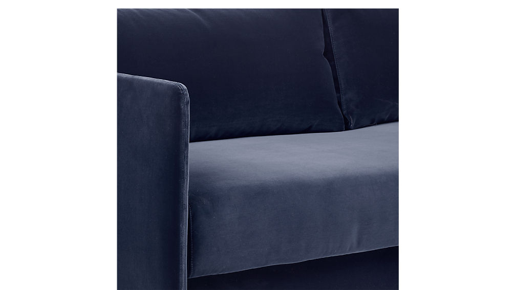 tandom navy sleeper sofa