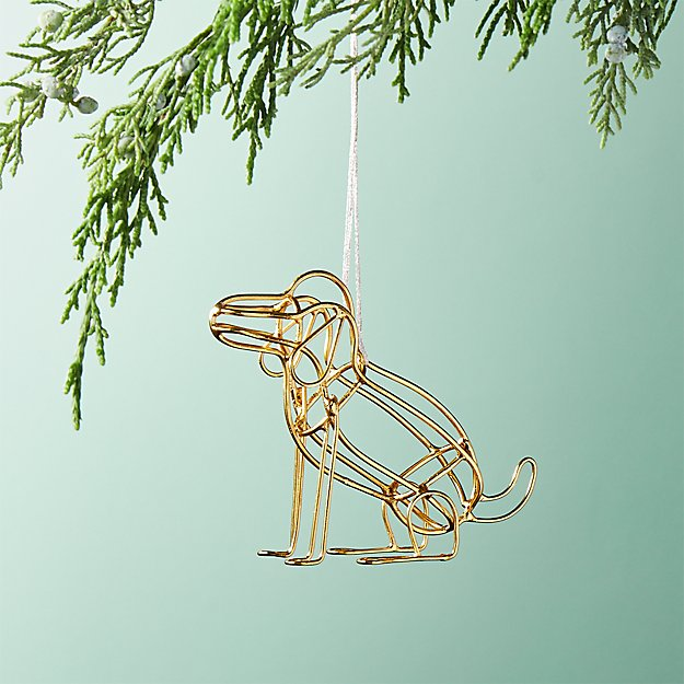 Tanner The Dog Ornament