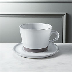 taper cup with saucer