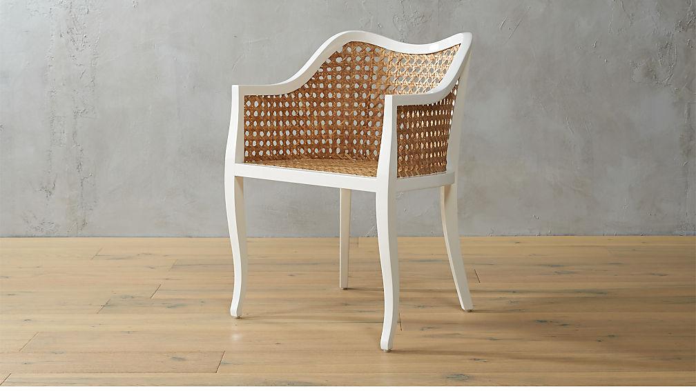 Taybas Cane Rattan Chair Cb2