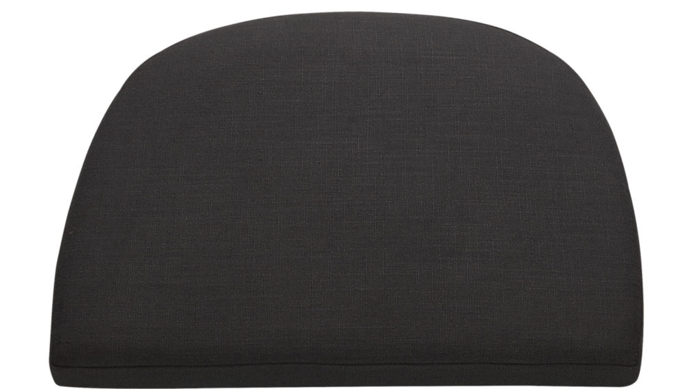 tayabas black chair cushion