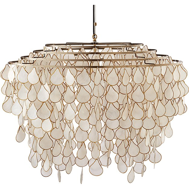 Teardrops capiz chandelier reviews cb2 teardropscapizchandelierf16 teardropscapizchandelierlitf16 teardropscapizchandelieravf16 teardropscapizchandelierav2f16 mozeypictures Image collections