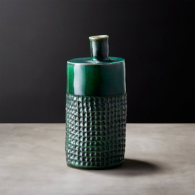 Temescal Green Vase