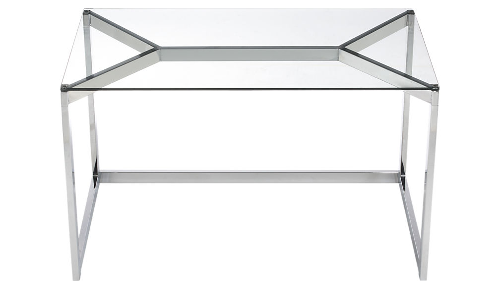 tesso chrome desk