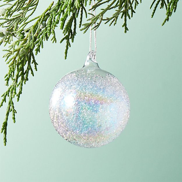Texture Luster Ball Ornament