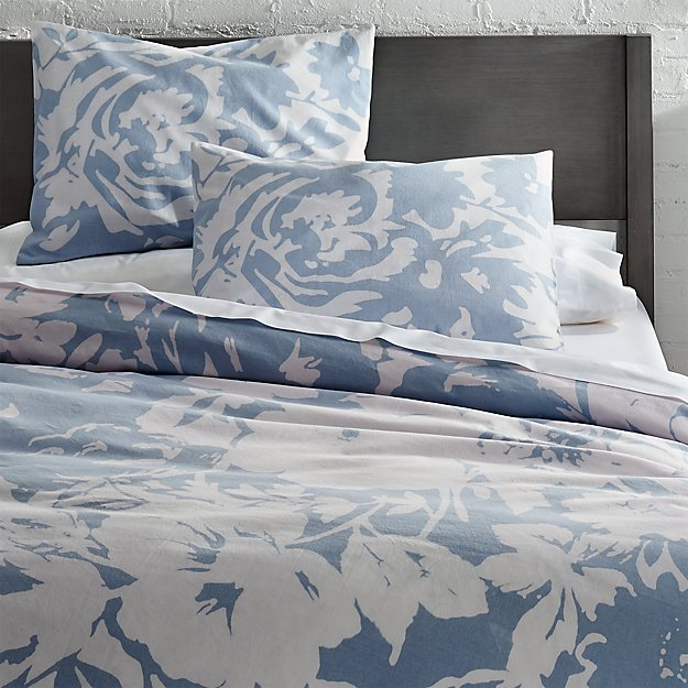 The Hill-Side giant floral print full/queen duvet cover