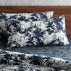 set of 2 The Hill-Side palm leaves king shams