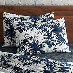 set of 2 The Hill-Side palm leaves standard shams