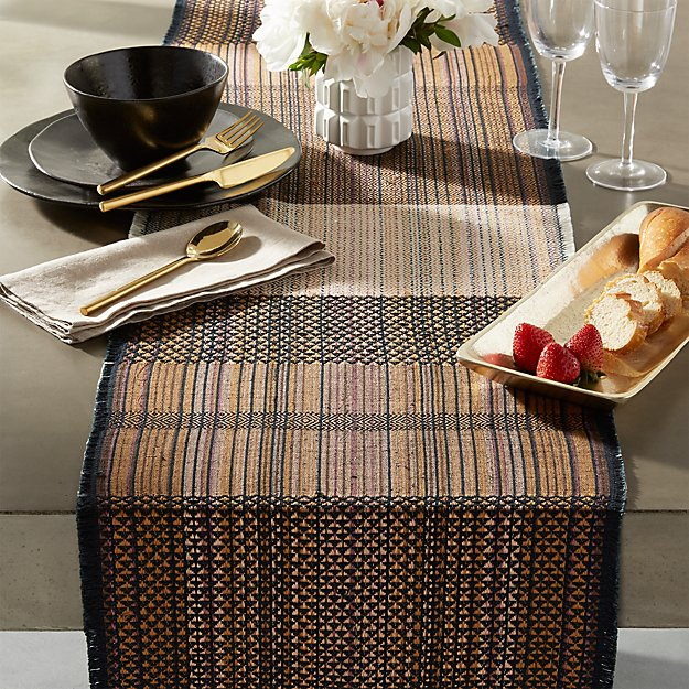 threads table runner