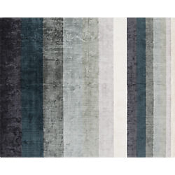 Tidal Hand Loomed Blue Grey Rug 8'x10'