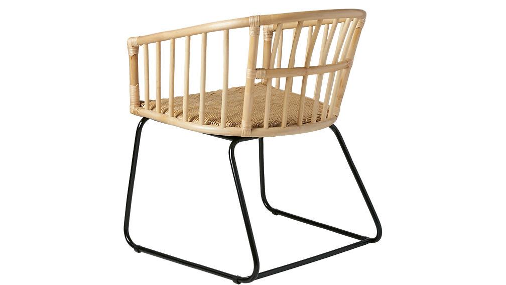 tolala natural arm chair