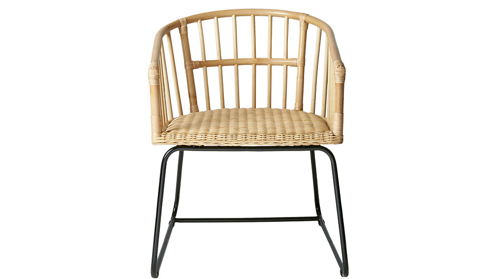 tolala natural arm chair
