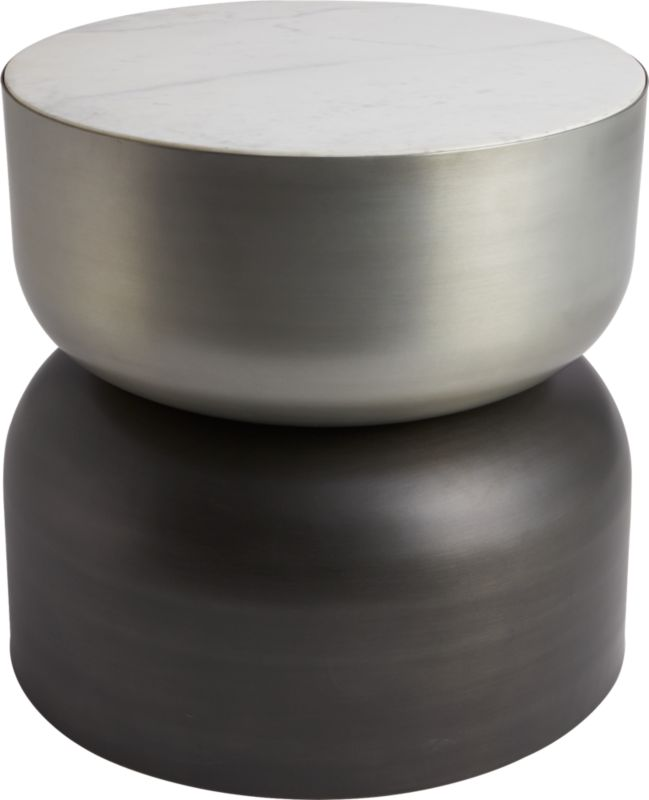 Cb Round Coffee Table - Cb2 round marble table