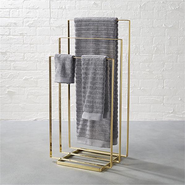 TowelRackBrassSHF16