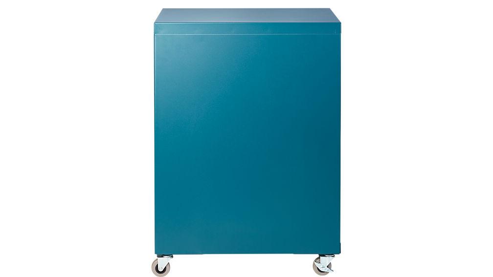 TPS teal 3-drawer filing cabinet