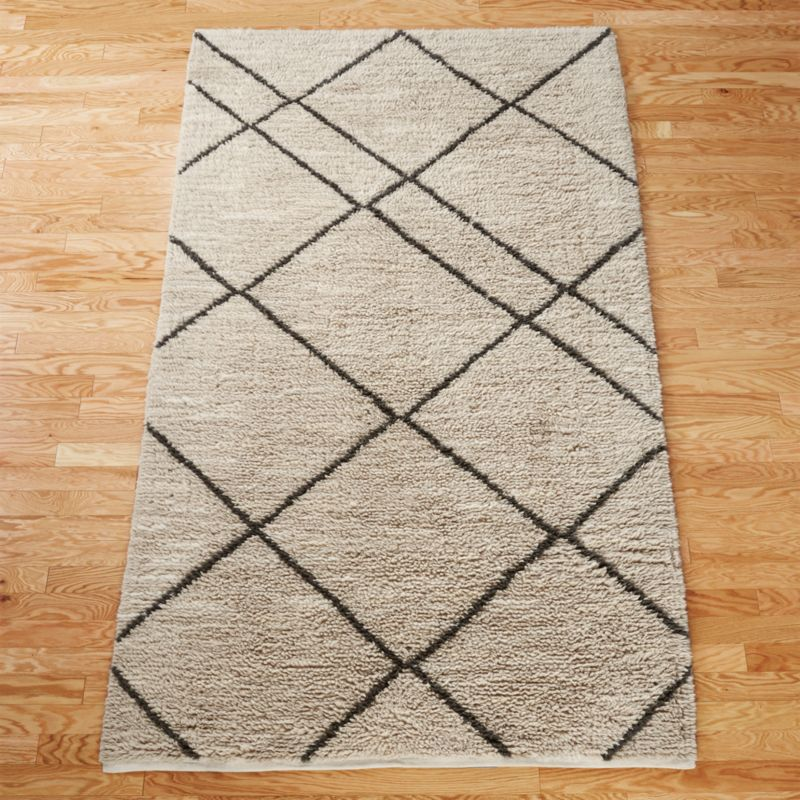 Good Trap Neutral Rug | CB2