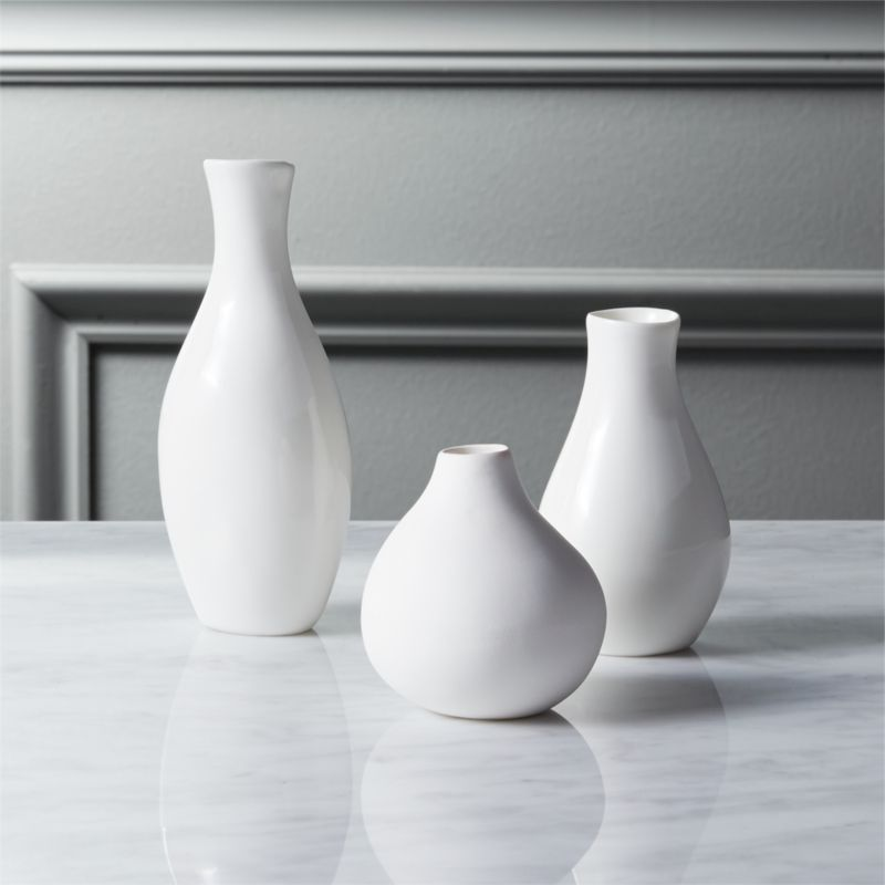 3 piece trio vase set