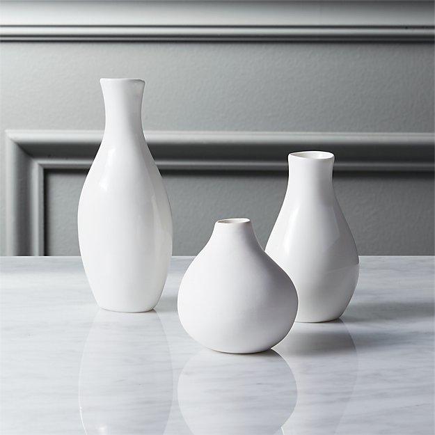 3 piece trio vase set