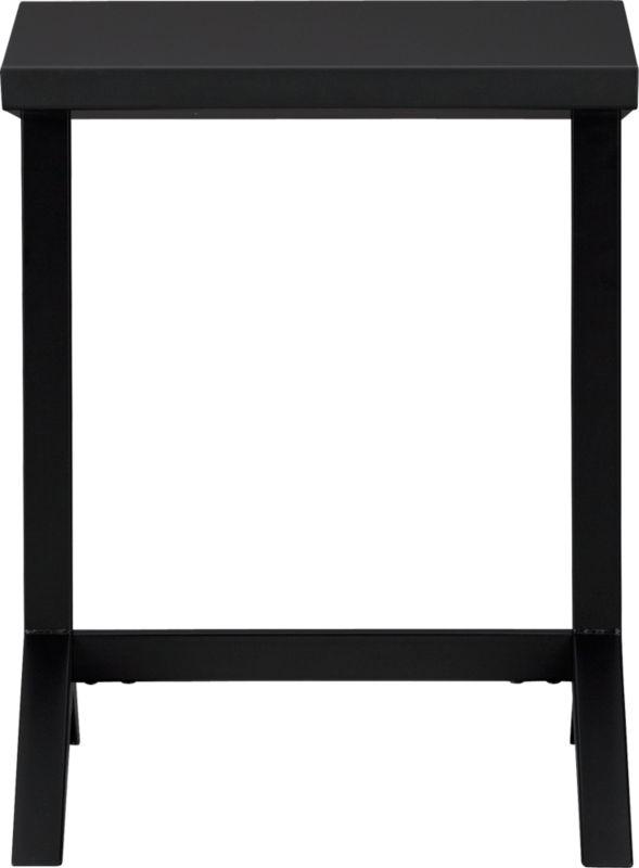 tucker black chalkboard laptop table