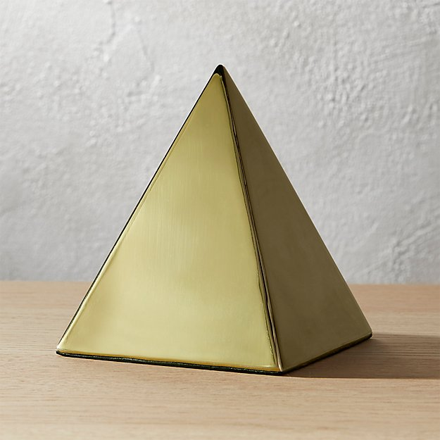 tut gold pyramid object