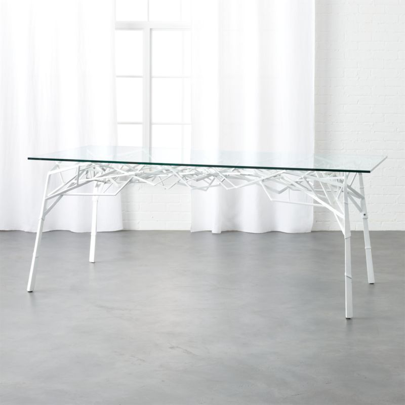 Twig White Desk Table