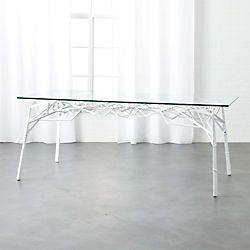 twig white desk