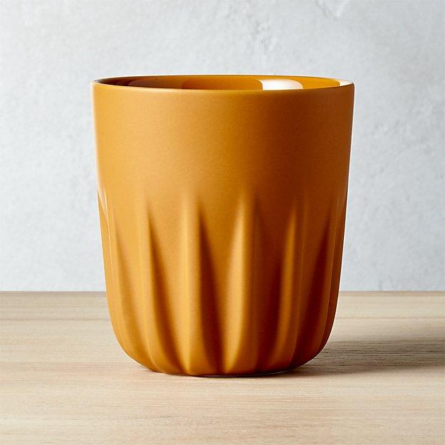 Twist Matte Camel Tea Cup